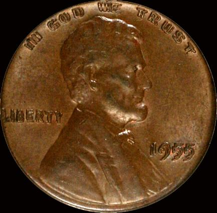The 1955 Doubled Die Obverse