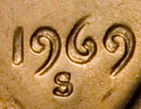The 1969 S Doubled Die Obverse 1 is
