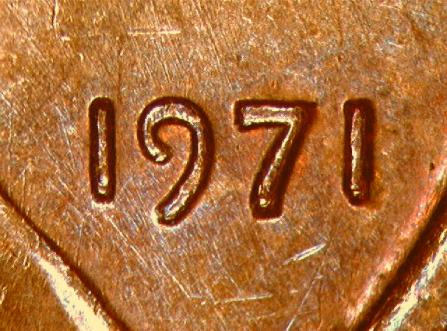 Two similar Class II Doubled Die Proof